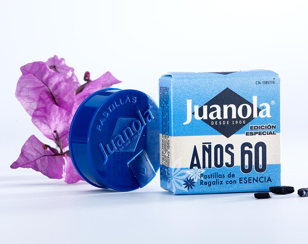 Pastillas Clásicas Juanola con esencia de anís