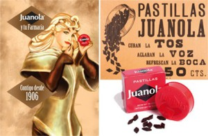 Pastillas clásicas de Juanola desde 1906