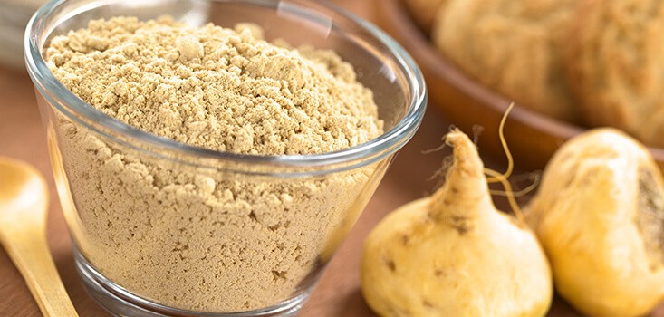 Polvo de maca ingrediente de Jalea Real Plus Energy de Juanola