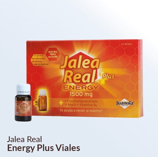 Jalea Real Energy Plus viales