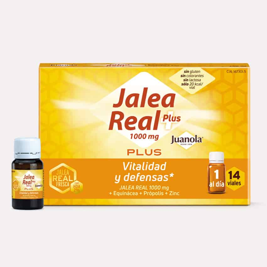 Jalea Real Plus viales